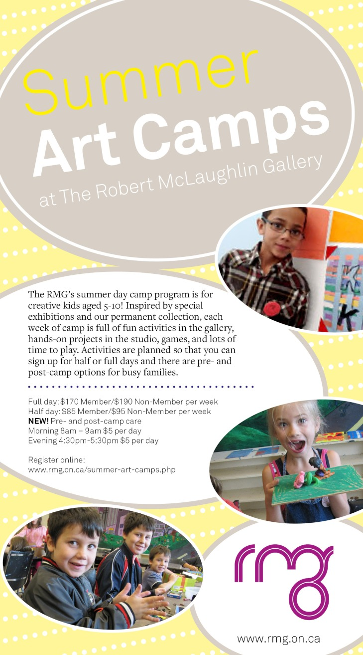 Summer Art Camp in Oshawa!