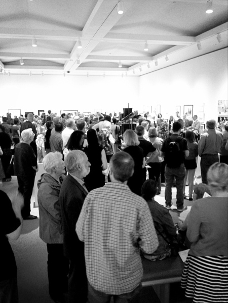 Oshawa Art Association Opening