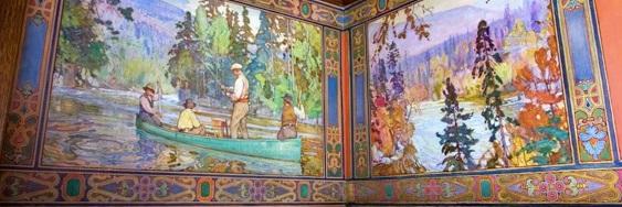 Billiard Room. Image courtesy the Challener Estate