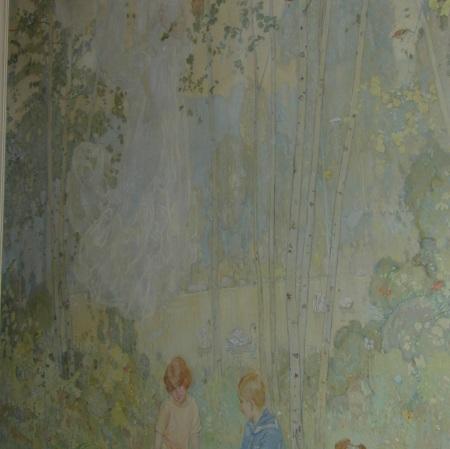 Enchanted Wood. Image courtesy Parkwood Estate, copyright the Challener estate.