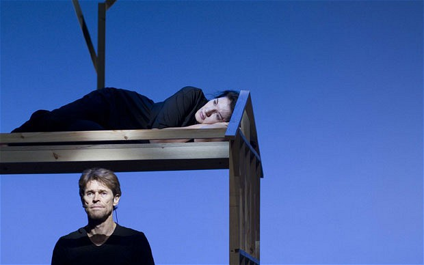 Willem Dafoe and Marina Abramovic