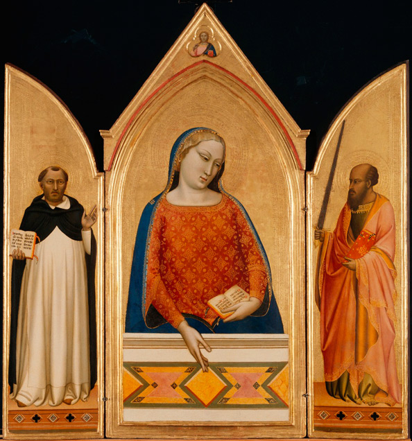 The Virgin Mary with Saints by Bernardo Daddi