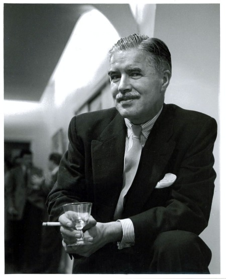 Portrait of Jack Bush at Park Gallery   1958  Photo courtesy the new studio photography