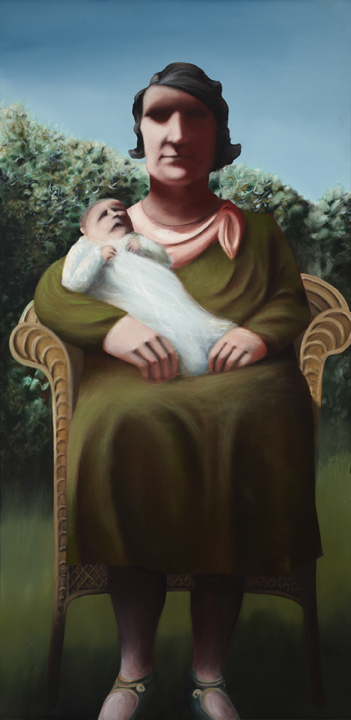 Louis de Niverville  Mother and Child 1970
