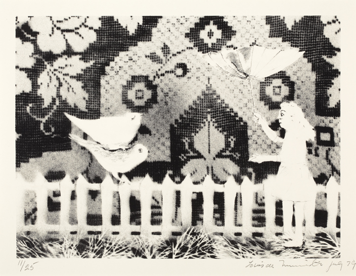 Louis de Niverville Untitled 1979 lithograph on paper 46.1 x 55.0 cm Gift of Peter and Susan Swann, 1994