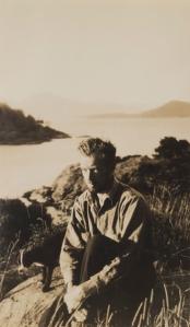 Image Credit: Jock Macdonald in Nootka Sound, c. 1935-36, Vancouver Art Gallery Archives