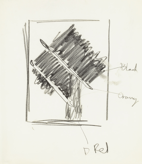 Ray Mead (Canadian, b. England, 1921-1998); Untitled (study); n.d.; charcoal on paper; Gift of the Estate of Ray Mead, 1999