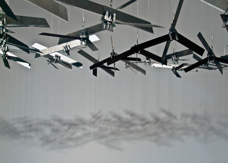 Abdullah M. I. Syed, Rug of Flying Drones, 2009